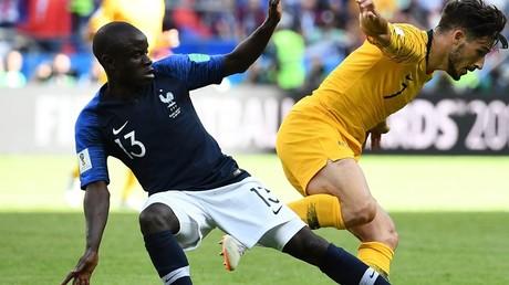 Mondial 2018 : la France arrache la victoire face l'Australie au terme d'un âpre match