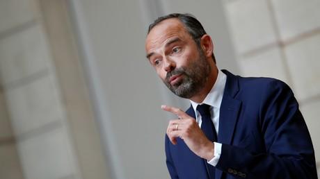 Edouard Philippe, premier ministre d'Emmanuel Macron