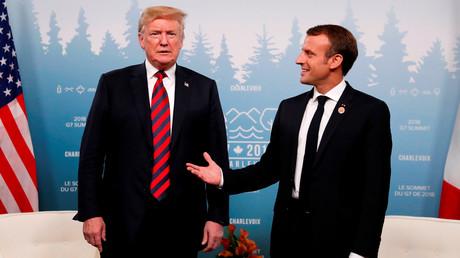 Trump aurait dit à Macron : «Tous les terroristes sont à Paris», l'Elysée dément