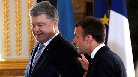 Conversation entre Porochenko et Macron : Paris salue la reprise des réunions au format Normandie