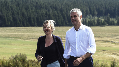 Virginie Calmels et Laurent Wauquiez, septembre 2017, illustration