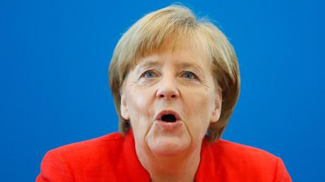 Image d'illustration : Angela Merkel, chancelière allemande