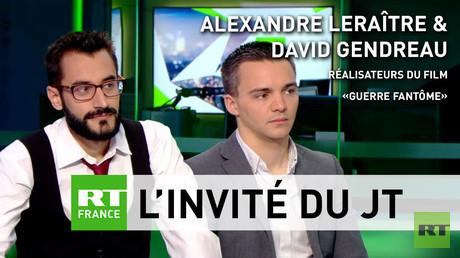 Alexandre Leraître et David Gendreau