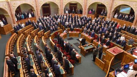 Le Parlement à Budapest en mai 2018.