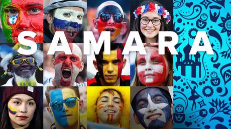 La folie du Mondial : Samara