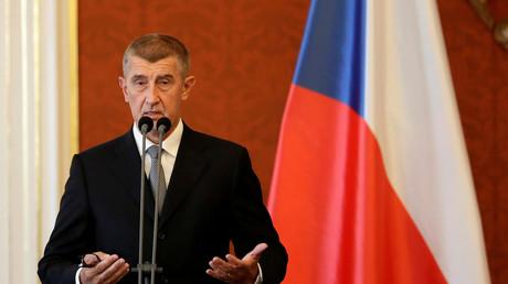 Le président du gouvernement tchèque Andrej Babis, photo ©David W Cerny/Reuters