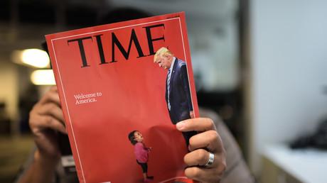 La couverture du Time daté du 2 juillet 2018