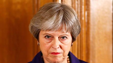 Theresa May, le 21 juin 2018
