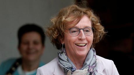 Muriel Pénicaud à la sortie de l'Elysée, 31 janvier, illustration