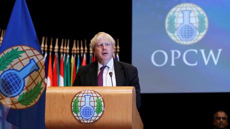Le ministre britannique des Affaires étrangères plaide pour une réforme de l'OIAC, photo ©Yves Herman / Reuters