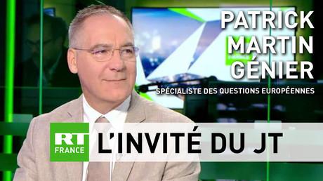 Pour Patrick Martin-Genier, le sommet européen est «une réunion de crise»