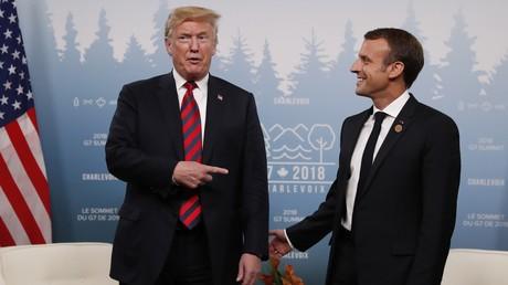 «Pourquoi ne quittez-vous pas l'Union européenne ?», aurait demandé Donald Trump à Emmanuel Macron