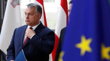Viktor Orban au sommet européen du 28 juin