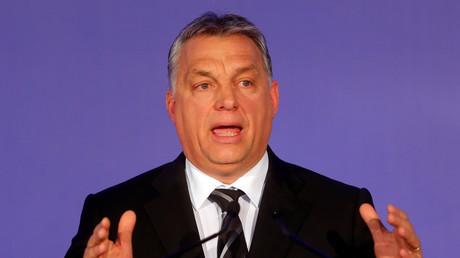 Le Premier ministre hongrois Viktor Orban en janvier 2017. (image d'illustration)