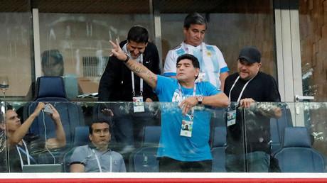Diego Maradona offre 10 000 dollars à la personne qui retrouvera celui qui a annoncé sa mort