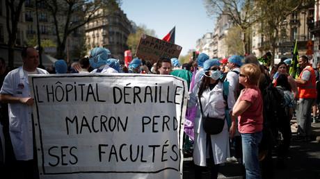 Manifestation le 19 avril du personnel hospitalier contre le futur plan de réforme du gouvernement