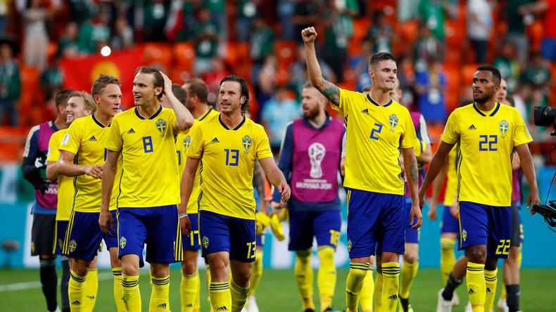 La Suède met fin à son boycott diplomatique de la Coupe du monde en Russie après sa qualification
