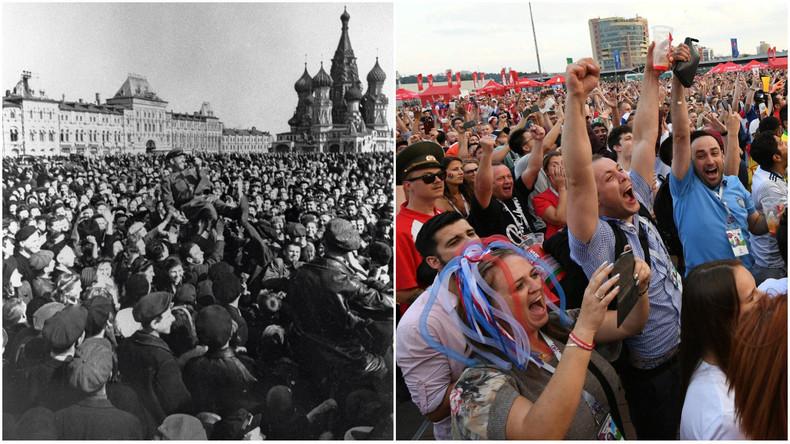 La Russie en quarts de finale, «le plus grand triomphe russe depuis le 9 mai 1945» ? Moscou répond