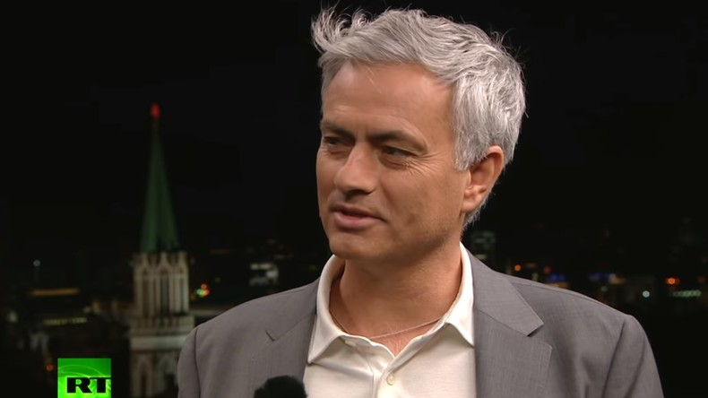 Interview : José Mourinho revient sur son rôle de consultant pour RT lors du Mondial 2018