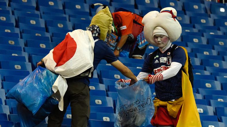Coupe du monde : le joli geste des Japonais après leur défaite contre la Belgique