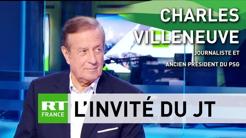 Charles Villeneuve livre pour RT son ressenti sur le match France-Uruguay