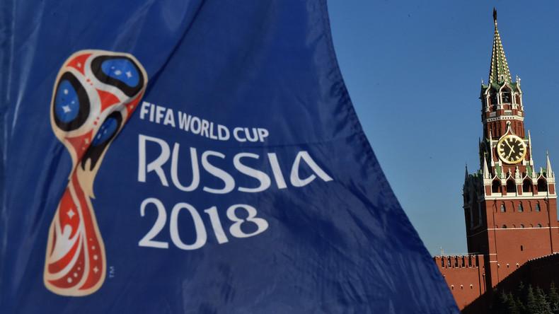 Gianni Infantino, le président de la FIFA, est tombé amoureux de la Russie