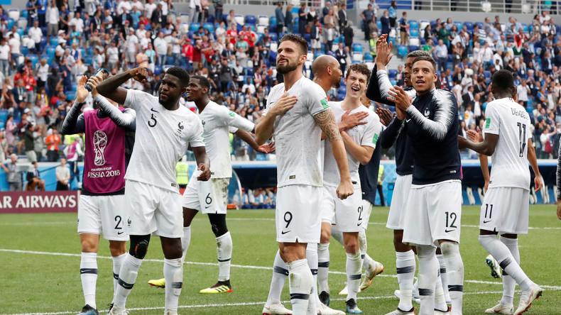 La France se qualifie en demi-finale après son succès 2-0 contre l'Uruguay