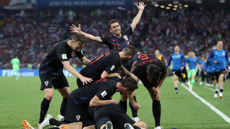 La Croatie élimine la Russie et accède à la demi-finale