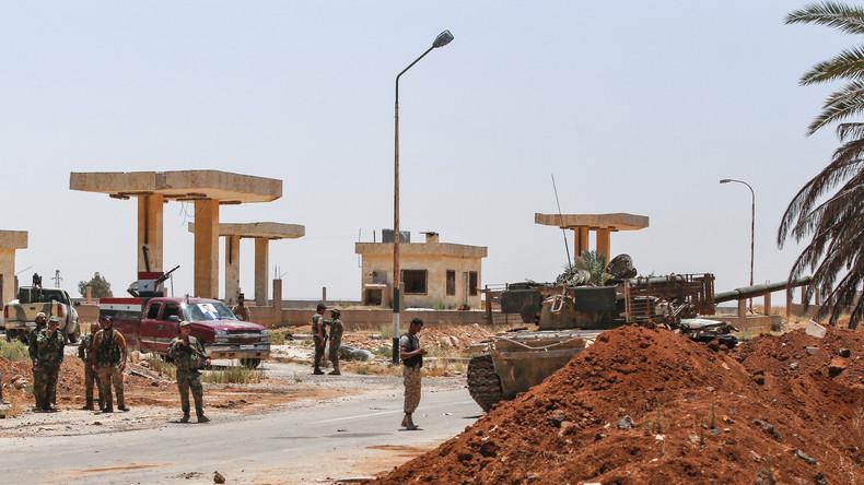 Syrie : l'armée russe prévoit d'évacuer jusqu'à 1 000 personnes de la zone de désescalade