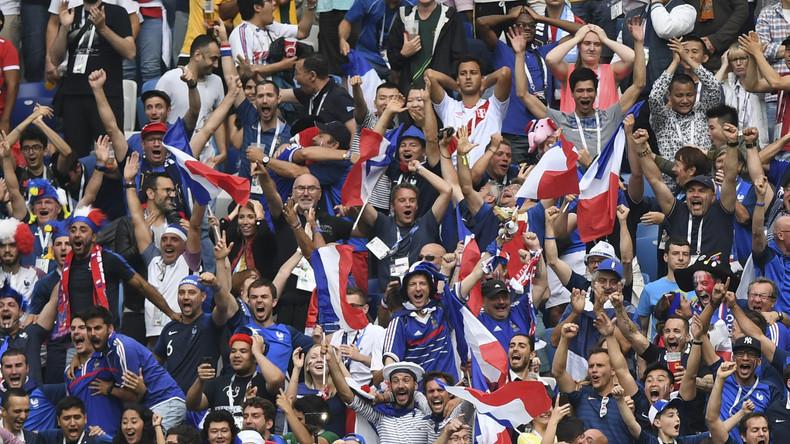 Mondial en Russie : les supporters des Bleus donnent de la voix avant France-Belgique