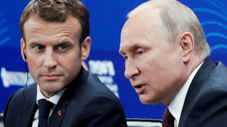 Emmanuel Macron profitera de la finale du Mondial pour s'entretenir avec Vladimir Poutine