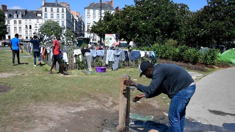 Nantes : 400 migrants campent en plein centre-ville, le maire refuse la demande d'évacuation