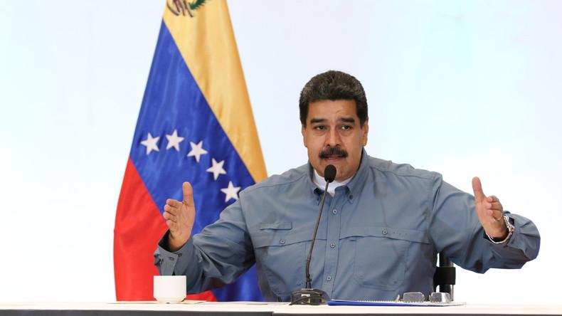 Pour Nicolas Maduro, la Coupe du monde 2018 a été remportée... par l'Afrique