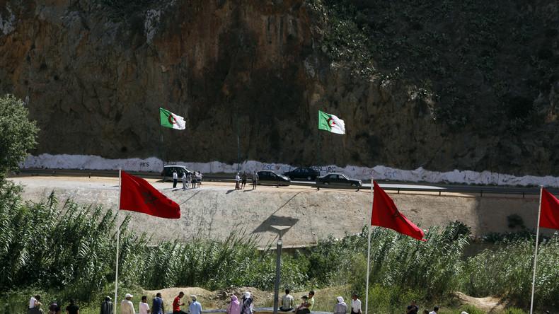 Manifestation pour la réouverture de la frontière algéro-marocaine