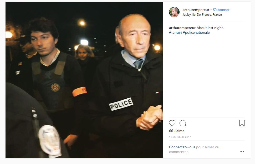 Un collaborateur de Gérard Collomb épinglé pour avoir porté un brassard Police en 2017