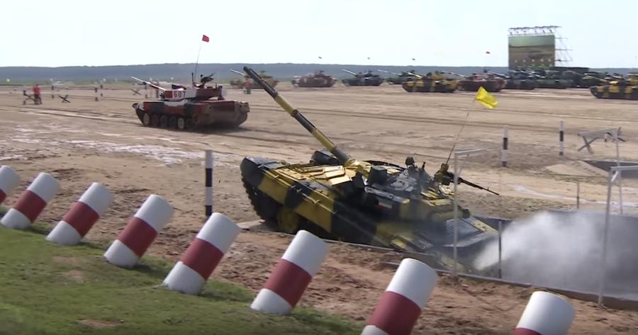 Jeux des Armées en Russie : retrouvez les meilleurs images du biathlon de chars (VIDEOS)