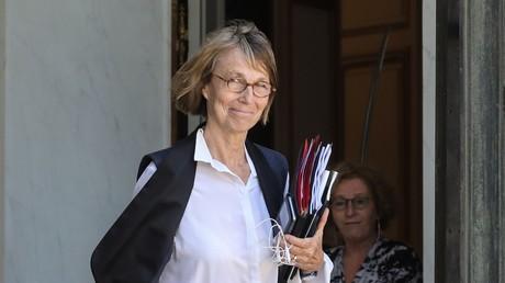 La ministre de la Culture Françoise Nyssen