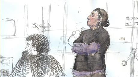 Christine Rivière, 52 ans, à son procès le 4 juillet