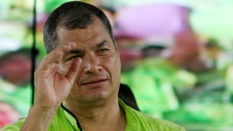 Equateur : mandat d'arrêt contre l'ancien président Rafael Correa