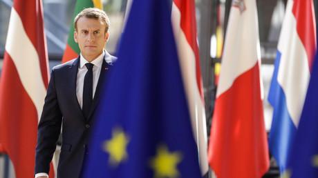 Emmanuel Macron, symbole du