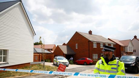 Muggleton Road, où ont été retrouvé les deux Britanniques empoisonnés au novitchok, Amesbury, le 5 juillet 2018.