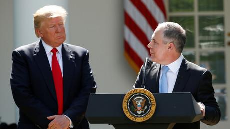 Trump se sépare de son ministre de l'Environnement, criblé d'enquêtes internes