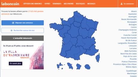 image d'accueil du site Leboncoin