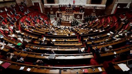 Dans l'hémicycle de l'Assemblée nationale, le 20 juin 2018. (image d'illustration)