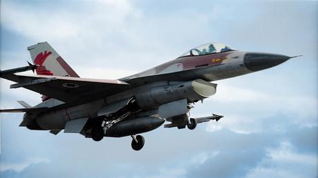 Image d'illustration : un avion de chasse de l'armée israélienne