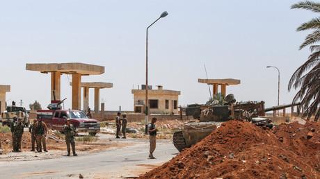De soldats de l'armée syrienne dans la province de Deraa le 7 juillet 2018. (image d'illustration)