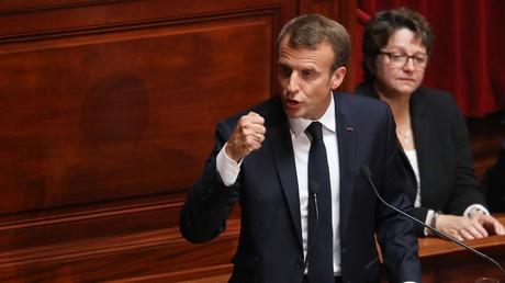 Congrès de Versailles : Emmanuel Macron entend«construire l'Etat-providence du XXIe siècle»