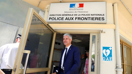 Laurent Wauquiez, le 29 juin 2018 à Menton. (image d'illustration)