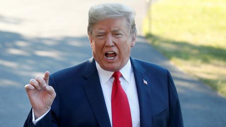 Donald Trump s'apprête à s'envoler le 10 juillet 2018 pour le sommet de l'OTAN à Bruxelles