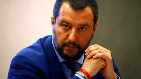 Le ministre de l'Intérieur italien Matteo Salvini